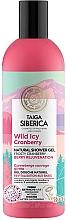 Parfums et Produits cosmétiques Gel douche à l'extrait de canneberge - Natura Siberica Doctor Taiga Wild Icy Cranberry Natural Shower Gel