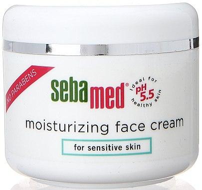 Crème à la vitamine E pour visage - Sebamed Moisturing Face Cream Sensitive Skin — Photo N1