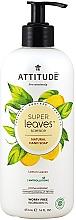 Parfums et Produits cosmétiques Savon liquide Feuilles de citron - Attitude Super Leaves Natural Lemon Leaves Hand Soap