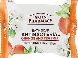 Parfums et Produits cosmétiques Savon de toilette à l'huile d'arbre à thé et extrait d'orange amère pour mains - Green Pharmacy