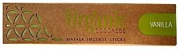 Parfums et Produits cosmétiques Bâtonnets parfumés - Song Of India Organic Goodness Vanilla