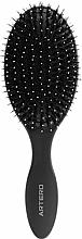 Parfums et Produits cosmétiques Brosse à cheveux ovale - Oval Graphite Artero Black
