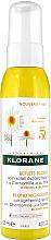 Parfums et Produits cosmétiques Spray à la camomille et miel pour cheveux - Klorane Blond Highlights Sun Lightening Spray With Chamomile And Honey