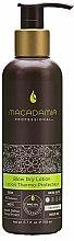 Parfums et Produits cosmétiques Lotion à l'huile de jojoba, coco et pistache pour cheveux - Macadamia Natural Oil Professional Blow Dry Lotion