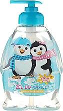 Parfums et Produits cosmétiques Gel bain et douche à l'arôme d'orangeade pour enfants, Pingouins heureux - Chlapu Chlap Bath & Shower Gel