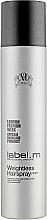 Parfums et Produits cosmétiques Laque pour cheveux - Label.m Weightless Hairspray