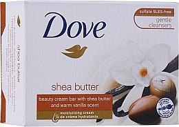 Parfums et Produits cosmétiques Savon crème au beurre de karité et vanille - Dove