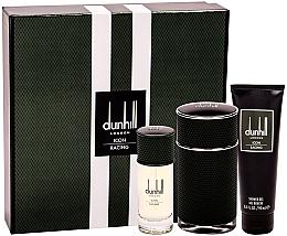 Parfums et Produits cosmétiques Alfred Dunhill Icon Racing - Coffret (eau de parfum/100ml + eau de parfum/30ml + gel douche/90ml)