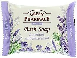 Parfums et Produits cosmétiques Savon à la lavande et huile de lin - Green Pharmacy