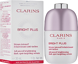 Sérum intensif éclaircissant pour visage - Clarins Bright Plus Serum — Photo N2