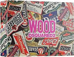 Parfums et Produits cosmétiques Dsquared2 Wood Pour Femme - Coffret (eau de toilette/100ml + eau de toilette/10ml + gel bain et douche/150ml)
