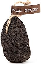 Parfums et Produits cosmétiques Pierre ponce volcanique, noir - Najel Volcanic Pumice Foot Stone