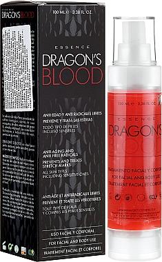 Traitement à l'aloe vera et huile d'olive pour visage et corps - Diet Esthetic Dragon Blood Essence