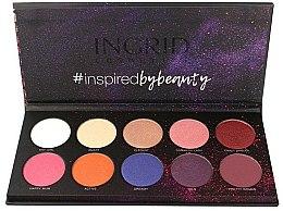 Parfums et Produits cosmétiques Palette de fards à paupières - Ingrid Cosmetics Colors Matt & Glam Palette