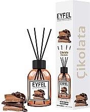 Parfums et Produits cosmétiques Bâtonnets parfumés Chocolat - Eyfel Perfume Reed Diffuser Chocolate