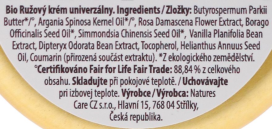 Crème à l'huile d'argan pour visage - Purity Vision Rose Cream — Photo N3