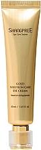 Parfums et Produits cosmétiques Crème aux peptides et or pour contour des yeux - Shangpree Gold Solution Care Eye Cream