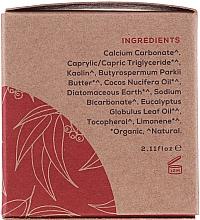 Dentifrice à l'huile de coco bio et eucalyptus - Georganics Eucalyptus Natural Toothpaste — Photo N3