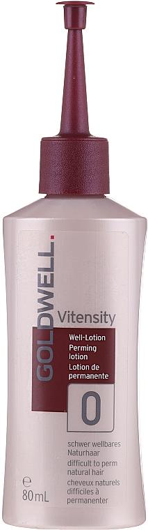 Lotion de permanente pour cheveux naturels résistants - Goldwell Vitensity Performing Lotion 0