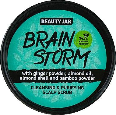 Gommage à la poudre de gingembre et bambou pour cuir chevelu - Beauty Jar Cleansing & Purifying Scalp Scrub