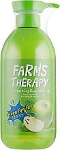 Parfums et Produits cosmétiques Gel douche à l'extrait de pomme verte - Farms Therapy Sparkling Body Wash Green Apple
