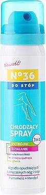 Spray rafraîchissant pour pieds - Pharma CF No36 Foot Spray 3In1