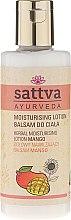 Parfums et Produits cosmétiques Lotion à la mangue et beurre de karité pour corps - Sattva Herbal Moisturising Lotion Mango