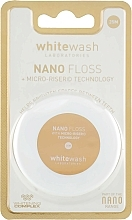 Parfums et Produits cosmétiques Fil dentaire Nano Floss, 25 m - WhiteWash Laboratories