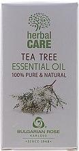 Parfums et Produits cosmétiques Huile essentielle d'arbre à thé 100% naturelle - Bulgarian Rose Herbal Care Tea Tree Essential Oil
