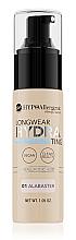 Parfums et Produits cosmétiques Fond de teint hydratant hypoallergénique - Bell HypoAllergenic Longwear Hydrating Balm Foundation