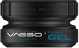 Parfums et Produits cosmétiques Gel coiffant - Vasso Professional Hair Styling Wax Fiber Gel Black Edition Asymmetry