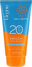 Parfums et Produits cosmétiques Émulsion solaire waterproof pour visage et corps - Lirene Sun Care Emulsion SPF20