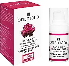 Parfums et Produits cosmétiques Crème régénérante et rajeunissante au complexe naturel pour contour des yeux - Orientana Bio Eye Cream Regenerating & Rejuvenating