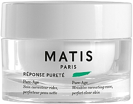 Parfums et Produits cosmétiques Crème anti-rides pour visage - Matis Reponse Purete Pure-Age