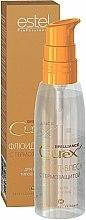 Parfums et Produits cosmétiques Fluide brillant de protection thermique pour cheveux - Estel Professional Curex Brilliance Fluid