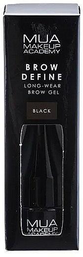 Gel teinté pour sourcils - MUA Brow Define Long-Wear Brow Gel