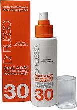 Parfums et Produits cosmétiques Brume solaire accélérateur de bronzage pour corps - Dr. Russo Once A Day SPF30 Sun Protective Invisible Mist