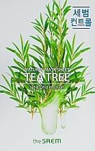 Parfums et Produits cosmétiques Masque tissu naturel arbre à thé pour visage - The Saem Natural Tea Tree Mask Sheet