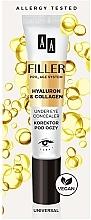 Parfums et Produits cosmétiques Correcteur à l'hyaluron et collagène pour contour des yeux - AA Filler Under Eye Concealer