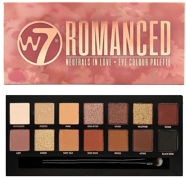 Palette de fards à paupières - W7 Romanced Eyeshadow Palette