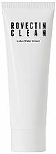 Parfums et Produits cosmétiques Crème à l'eau de lotus pour visage - Rovectin Clean Lotus Water Cream