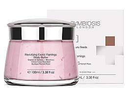 Parfums et Produits cosmétiques Beurre à l'huile de babassu et murumuru pour corps - Symbiosis London Revivifying Exotic Flamingo Body Butter