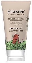 Parfums et Produits cosmétiques Déodorant-crème à l'extrait d'aloe vera - Ecolatier Organic Aloe Vera Deodorant