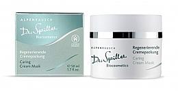 Parfums et Produits cosmétiques Crème-masque à l'extrait d'argousier pour visage - Dr. Spiller Alpenrausch Caring Cream Mask