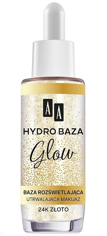 Base de maquillage éclaircissante - AA Hydro Baza Glow
