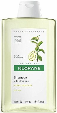 Shampooing énergisant au cédrat - Klorane Shampoo With Citrus Pulp — Photo N1