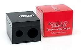 Parfums et Produits cosmétiques Taille-crayon double, noir - Pupa Double Pencil Sharpener