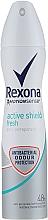 Parfums et Produits cosmétiques Déodorant spray anti-traces jaunes et blanches - Rexona MotionSense Active Protection+ Fresh