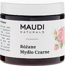 Parfums et Produits cosmétiques Savon noir à la rose - Maudi