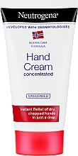 Parfums et Produits cosmétiques Crème mains concentrée, non parfumée - Neutrogena Norwegian Formula Concentrated Unscented Hand Cream